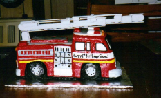 Fire Truck w/moveable ladder