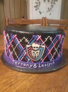 Monster High (Pin Up Cake)
