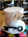 Top Hat Cake Topper