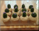 Cacti in Bloom Cupcakes