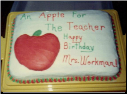 Apple for Teacher