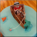 Fishing Cake Topper